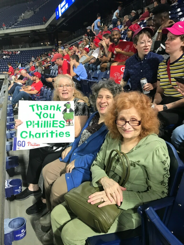 Thank you Phillies Charities