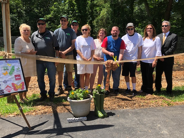 Garden Ribbon Cutting